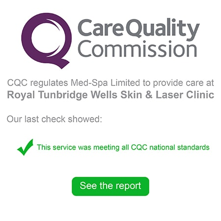 CQC registered aesthetic clinic
